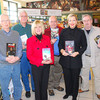Local mystery writers at the B&N in Apple Valley on Saturday,  Nov. 29 (L to R: Bob Rueff, Scott Car